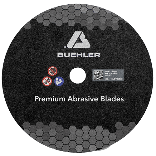 Abrasive blade, HRC35-50 & HRC50-60, 10in (254mm)