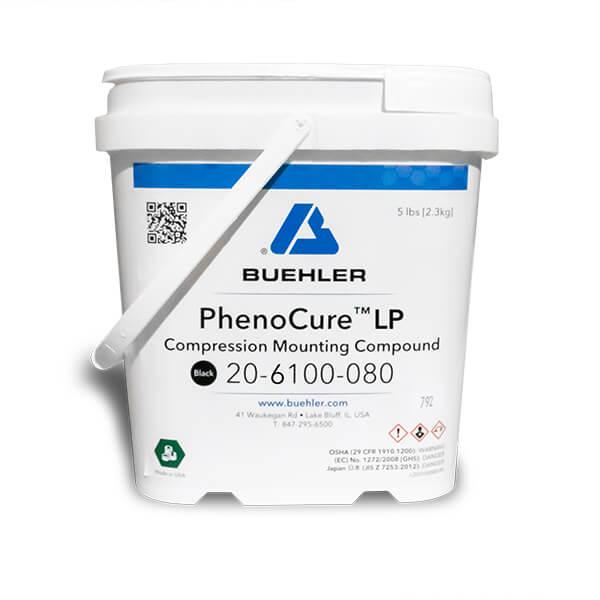 PhenoCure LP Powder, Black, 5lb [2.3kg]